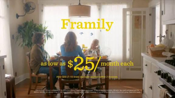 Sprint Framily Plan TV Spot, 'Meet the Frobinsons' - 741 commercial airings