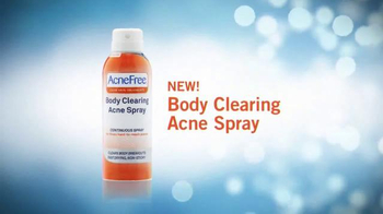 Acne Free Body Clearing Acne Spray TV Spot - Thumbnail 2