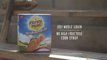 Honey Maid Grahamfuls TV Spot, 'Team of Two' - Thumbnail 7