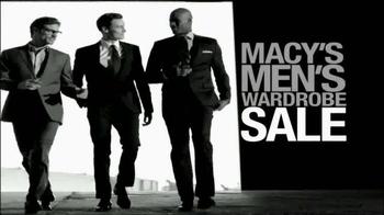 Macy's Men Wardrobe Sale TV Spot - 31 commercial airings