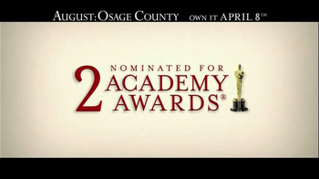 August: Osage County Blu-ray and DVD TV Spot - Thumbnail 1