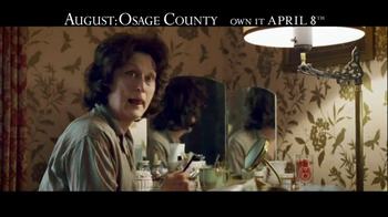 August: Osage County Blu-ray and DVD TV Spot