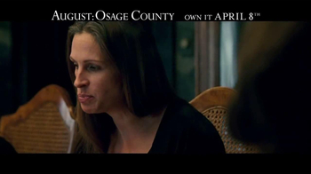 August: Osage County Blu-ray and DVD TV Spot - Thumbnail 6