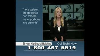 Aylstock, Witkin, Kreis & Overholtz (AWKO) Law TV Spot, 'Stryker Hip'