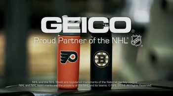 GEICO TV Spot, 'NHL Hockey Rivalries: Tread Light' - Thumbnail 6