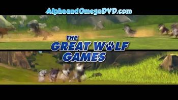 Alpha and Omega 3: The Great Wolf Games Blu-ray Combo Pack TV Spot