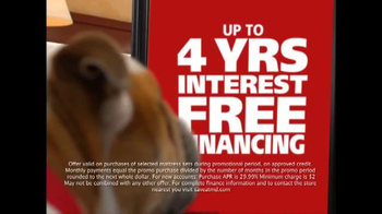 Mattress Discounters TV Spot, 'Four Years Interest Free'
