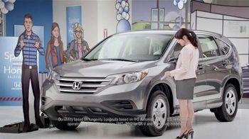 Honda Spring Into a Honda Event TV Spot, 'Dad' - 243 commercial airings