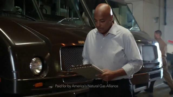 America\'s Natural Gas Alliance TV Spot, \'Think About It: UPS\'