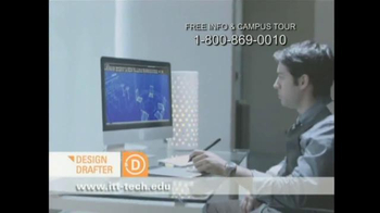 ITT Technical Institute TV Spot, 'Technical Drawings' - Thumbnail 4