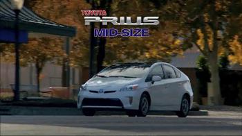 Toyota Spring Sales Drive TV Spot, 'Prius' - Thumbnail 2