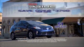 Toyota Spring Sales Drive TV Spot, 'Prius' - Thumbnail 7