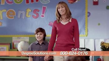Degree Solutions TV Spot, 'Welcome Parents'