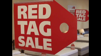 Mattress Discounters Red Tag Sale TV Spot, '$300 Off'
