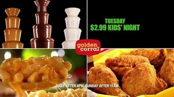 Golden Corral Weekday Dinner Spotlights TV Spot - Thumbnail 5