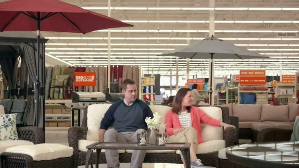 Big Lots Outdoor TV Commercial, 'High Style, Low Price'