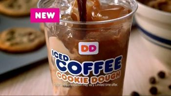 Dunkin' Donuts Cookie Dough Iced Coffee TV Spot - 171 commercial airings