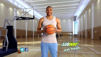Subway Spicy Italian TV Spot, 'April Six-Inch Select' Ft. Russell Westbrook - Thumbnail 10
