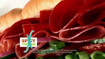 Subway Spicy Italian TV Spot, 'April Six-Inch Select' Ft. Russell Westbrook - Thumbnail 2