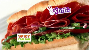 Subway Spicy Italian TV Spot, 'April Six-Inch Select' Ft. Russell Westbrook - Thumbnail 9