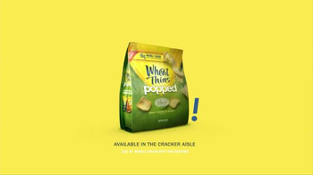 Wheat Thins Popped TV Spot, 'Air Chase' - Thumbnail 10