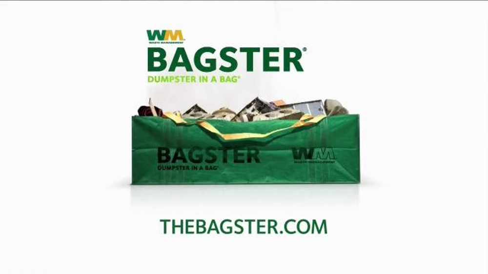 Waste Management Bagster TV Commercial, 'Home Improvement Project'