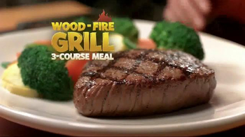 Outback Steakhouse Wood-Fire Grill 3-Course Meal TV Spot - Thumbnail 3