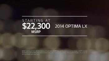2014 Kia Optima LX TV Spot, 'No-Brainer' - Thumbnail 10