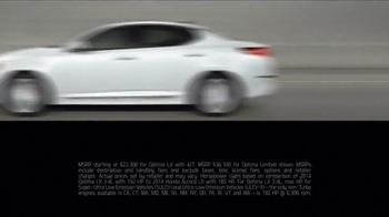 2014 Kia Optima LX TV Spot, 'No-Brainer' - Thumbnail 4