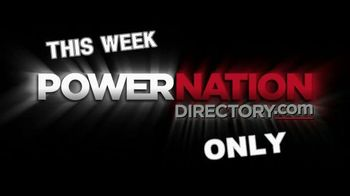 PowerNation Directory TV Spot, 'Massive Horsepower'