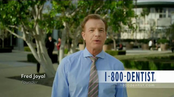 1-800-DENTIST TV Spot, \'Founder Fred Joyal\'