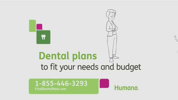 Humana Dental Plans TV Spot, 'Find Dental' - 47 commercial airings