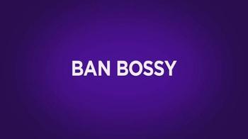 Lifetime Channel TV Spot, 'Ban Bossy' Featuring Jennifer Garner, Beyonce - Thumbnail 8