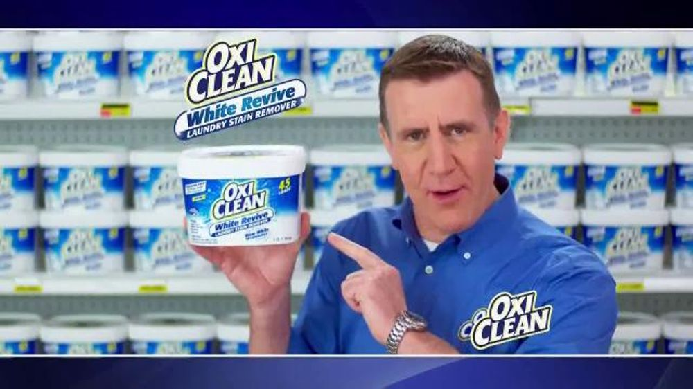 Oxiclean White Revive Tv Commercial Shaking It Up