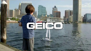 GEICO TV Spot, 'The Gecko's Journey: Baltimore Boat' - Thumbnail 10
