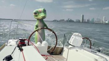 GEICO TV Spot, 'The Gecko's Journey: Baltimore Boat' - Thumbnail 3