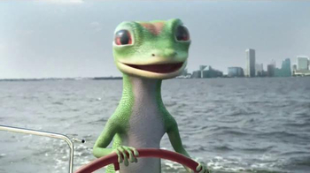 GEICO TV Spot, 'The Gecko's Journey: Baltimore Boat' - Thumbnail 4