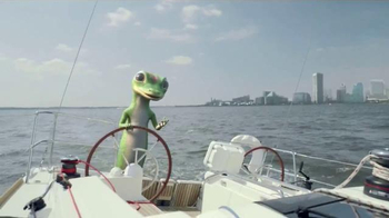 GEICO TV Spot, 'The Gecko's Journey: Baltimore Boat' - 9087 commercial airings