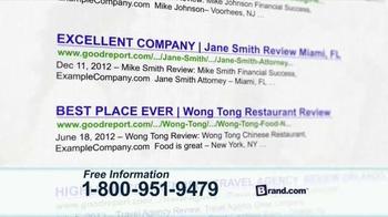 Brand.com TV Spot, 'Online Brand Management' - Thumbnail 3