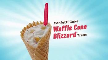 Dairy Queen Confetti Cake Waffle Cone Blizzard TV Spot, 'Opera' - Thumbnail 7