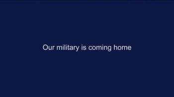 ACP  AdvisorNet TV Spot, 'Our Military Is Coming Home' - Thumbnail 1