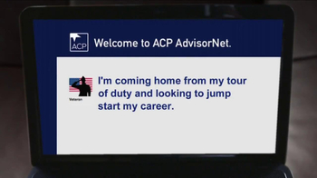 ACP  AdvisorNet TV Spot, 'Our Military Is Coming Home' - Thumbnail 3