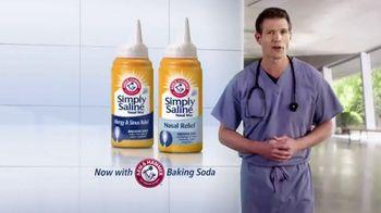 Simply Saline TV Spot, 'Nasal Mists' Featuring Dr. Travis Stork