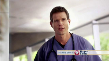 Simply Saline TV Spot, 'Nasal Mists' Featuring Dr. Travis Stork - Thumbnail 1