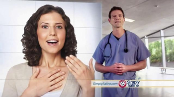 Simply Saline TV Spot, 'Nasal Mists' Featuring Dr. Travis Stork - Thumbnail 6