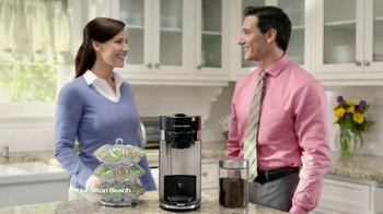 Hamilton Beach FlexBrew Coffee Maker TV Spot