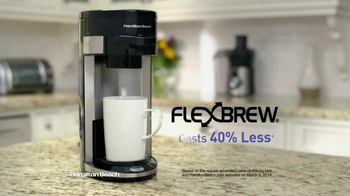 Hamilton Beach FlexBrew Coffee Maker TV Spot - Thumbnail 3