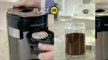 Hamilton Beach FlexBrew Coffee Maker TV Spot - Thumbnail 5