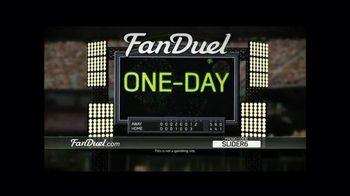 FanDuel Fantasy Baseball One-Day Leagues TV Spot, 'Hooked'