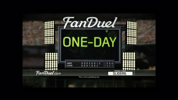 FanDuel Fantasy Baseball One-Day Leagues TV Spot, 'Hooked'